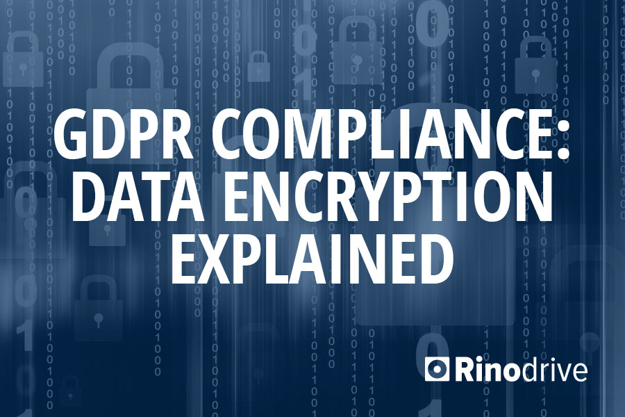 gdpr compliance data encryption explained