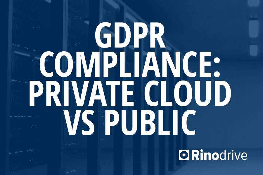 gdpr compliance private cloud vs public