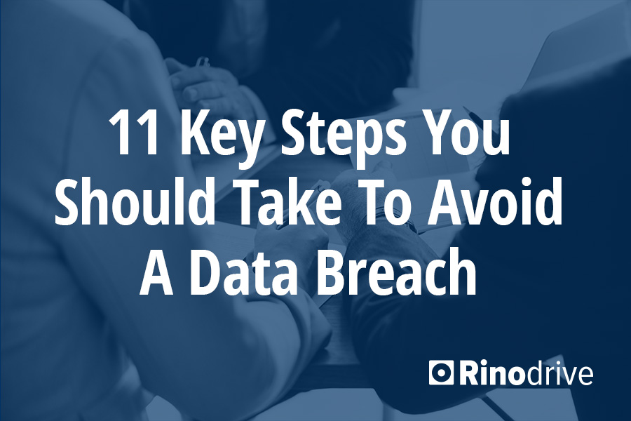 avoid a data breach